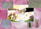 Esküvői díszgyertyák